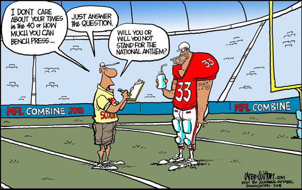 Cartoon: New NFL scouting