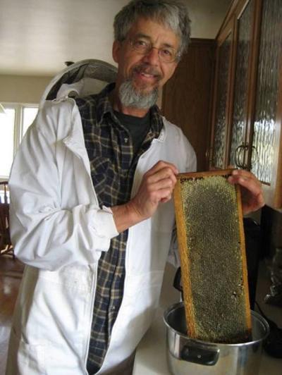 Jim Rice, beekeeper