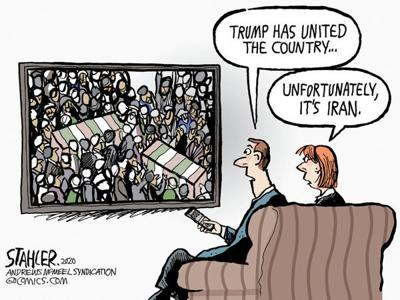 Trump has united the country ...