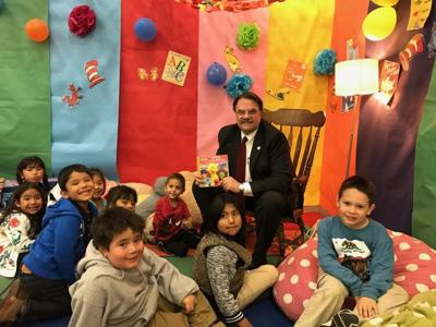 Over 300 People Attend Liberty Elementary Family Literacy Night