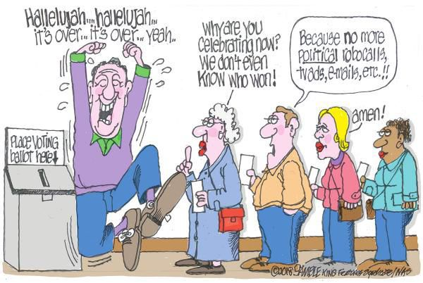 Cartoon: Election's over