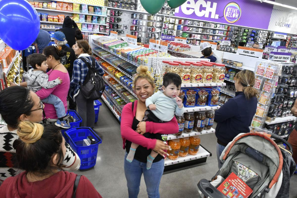 More Than 100 Line Up For Opening Of Five Below Discount Store In