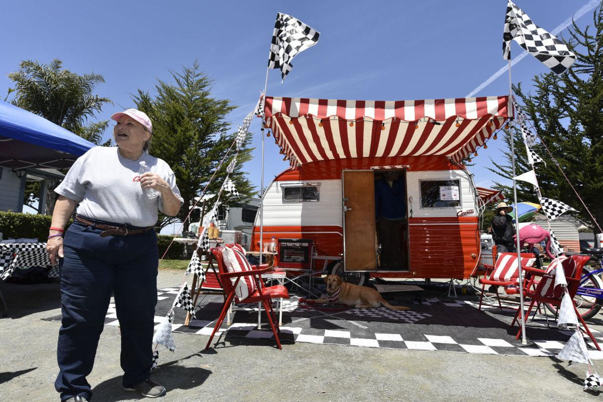 Travel Trailers Become Time Machines In Pismo Beach