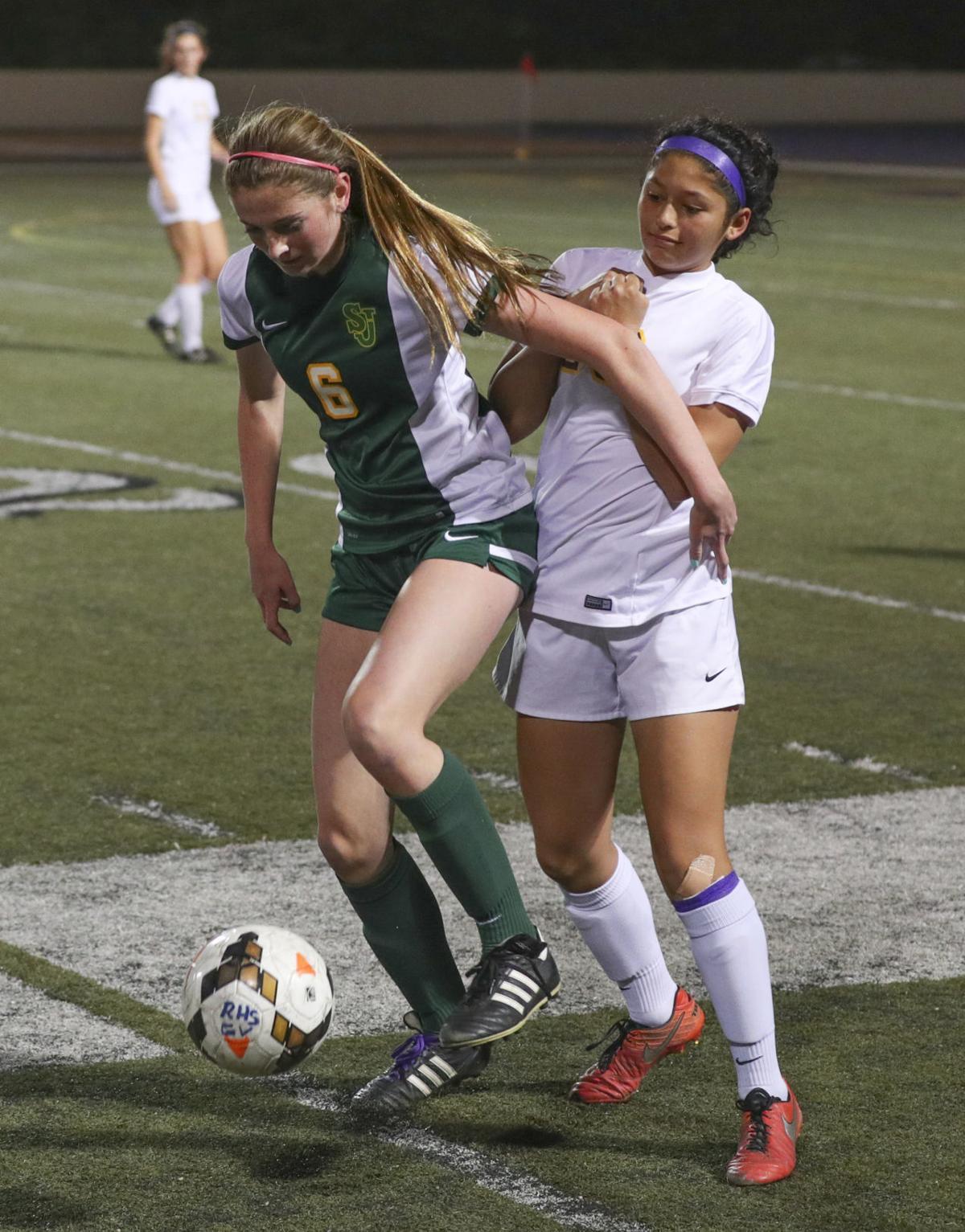 Girls Soccer Righetti vs St Joseph
