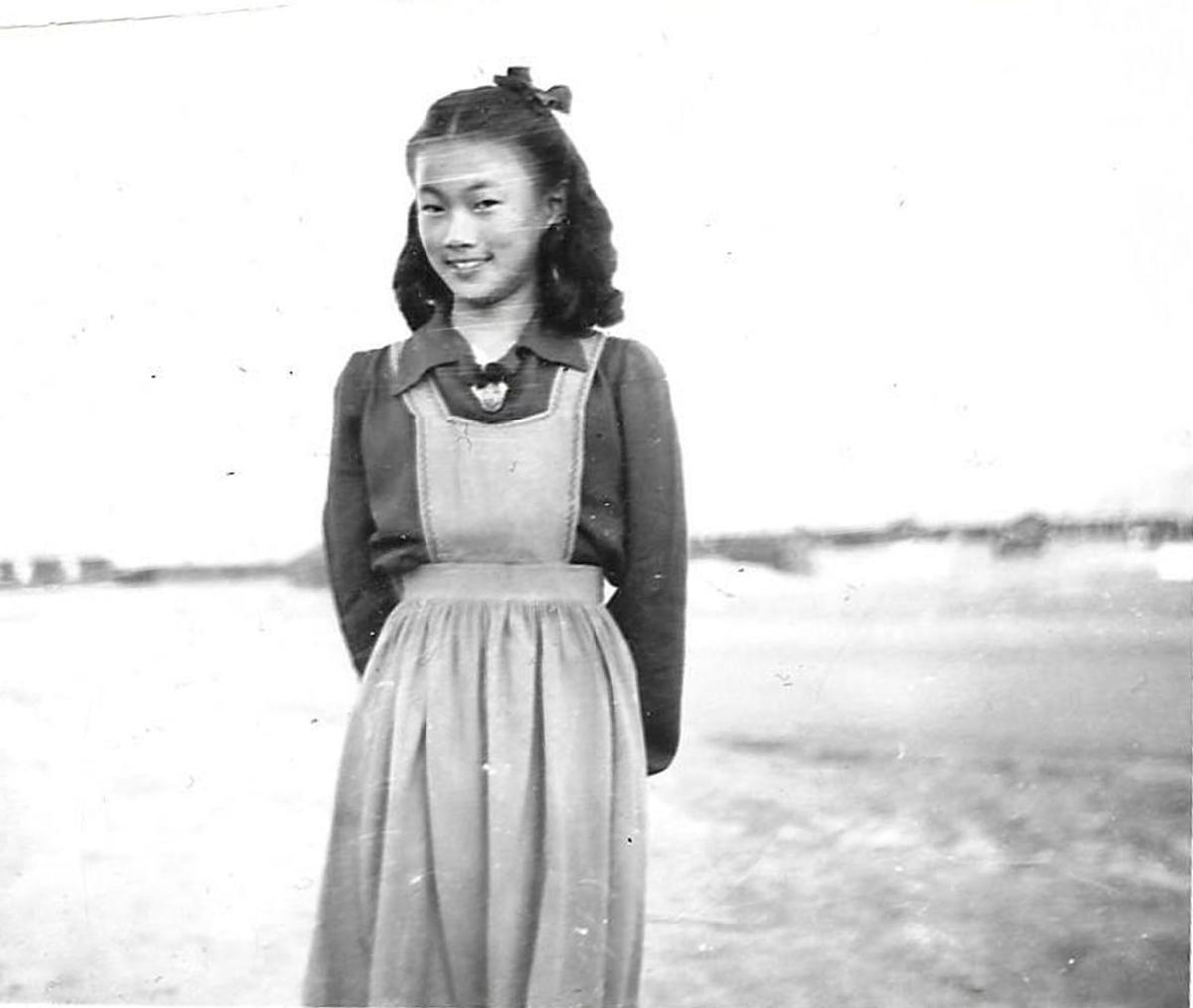 Margaret in camp.jpg
