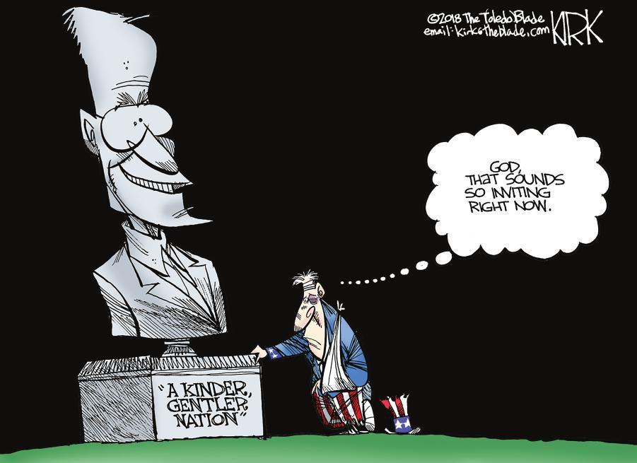 Cartoon: 'Kinder, gentler nation'
