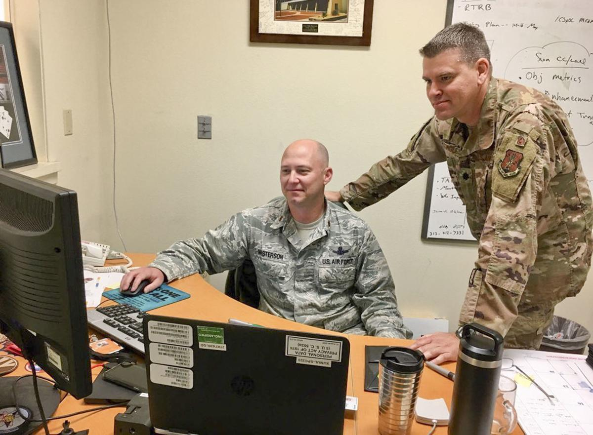 CHECKPOINT: VAFB Airmen at the front lines in America's