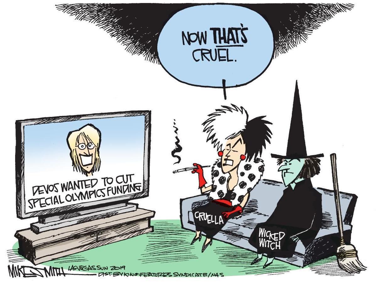 Cartoon: Crueler than Cruella