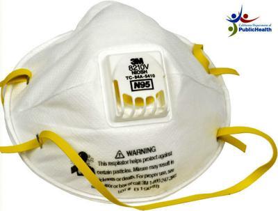 California Department of Public Health N95 mask