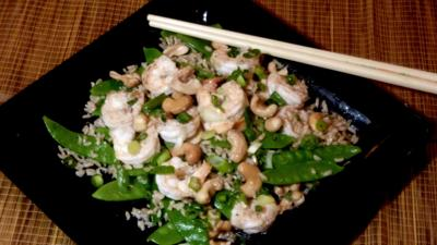 FOOD-QUICKFIX-MCT -- Srimp stir-fry with cashews