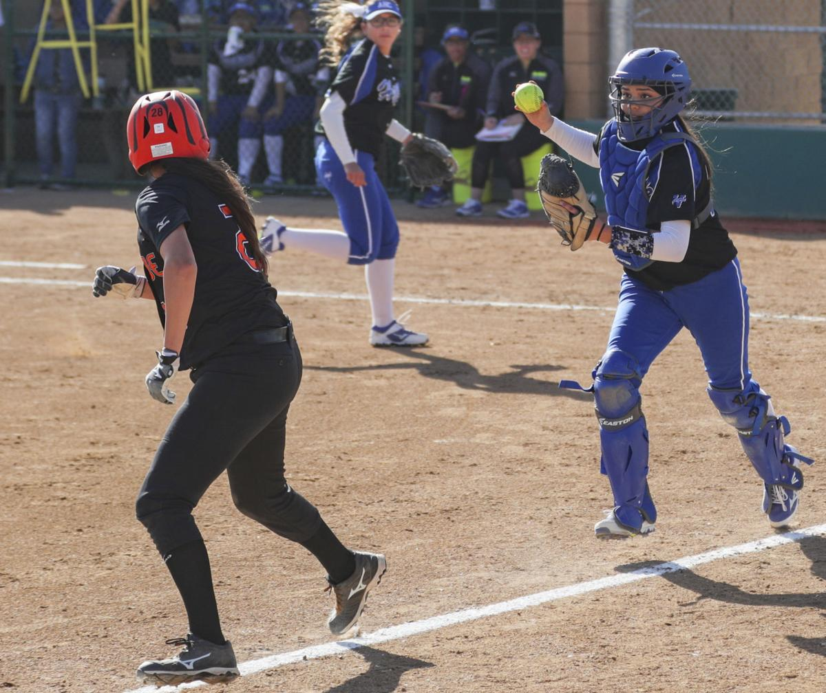 College Softball Allan Hancock vs Riverside