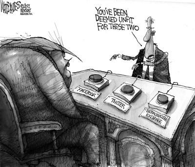 Editorial Cartoon: Unfit