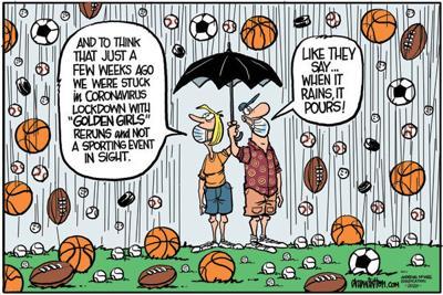 Editorial Cartoon: Rain