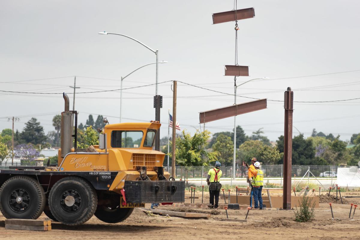 Enos Ranch school construction