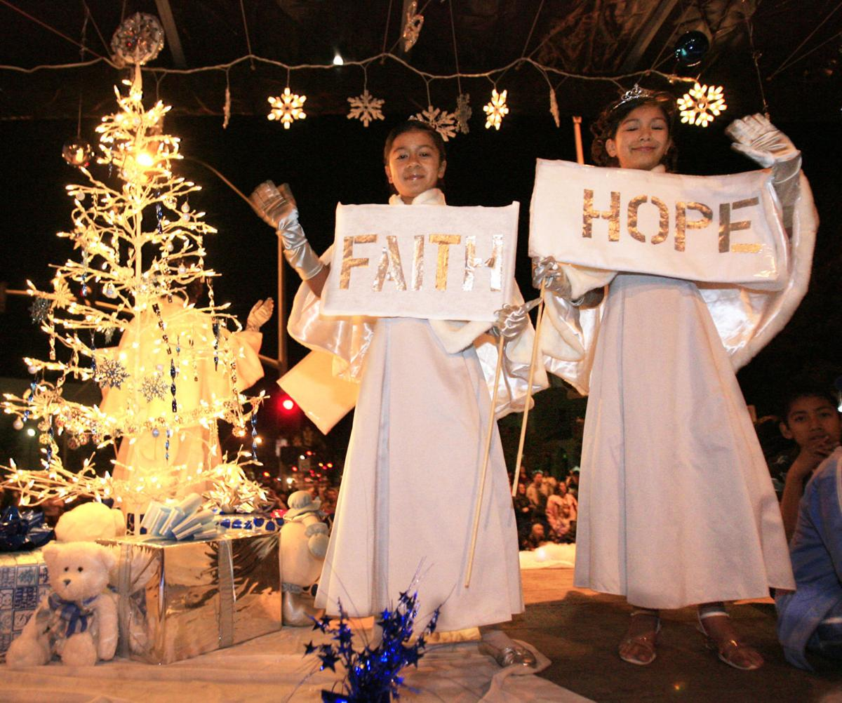 Photos: A decade plus of the Christmas Parade of Lights in Santa ...
