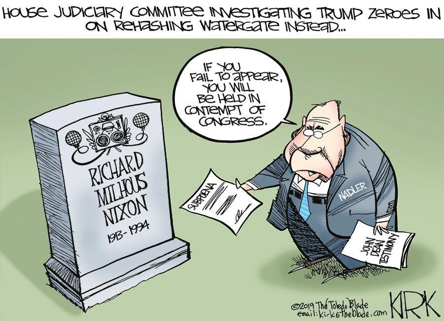 Cartoon: Rehashing Watergate