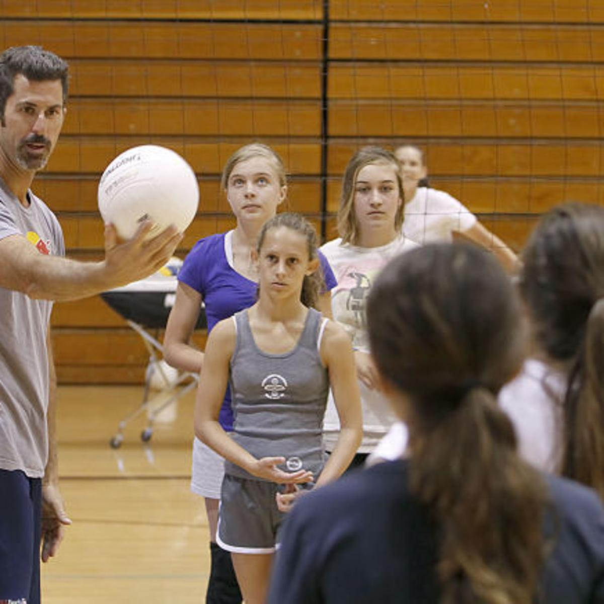 Olympian Todd Rogers Back For Volleyball Camp Santamariatimes Com