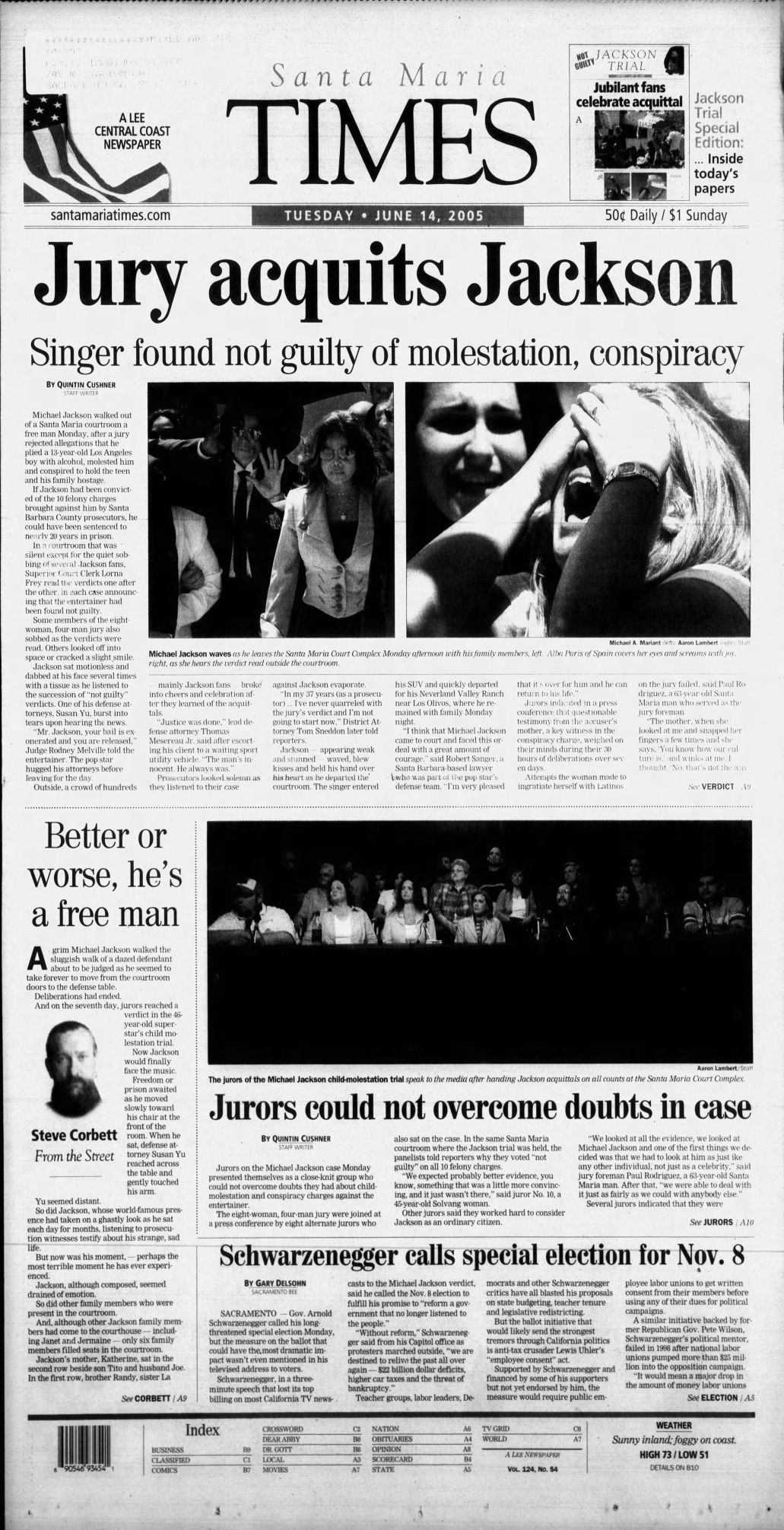 Jackson front page