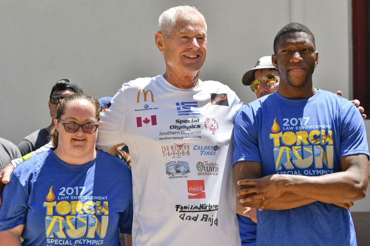 Photos: Local L.E.O's carry Special Olympics Flame of Hope