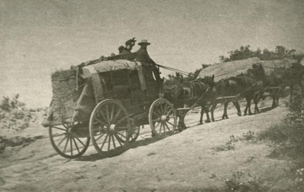 San Marcos Pass stagecoach