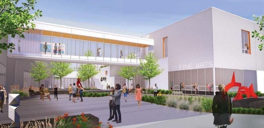 Proposed Hancock Fine Arts Complex