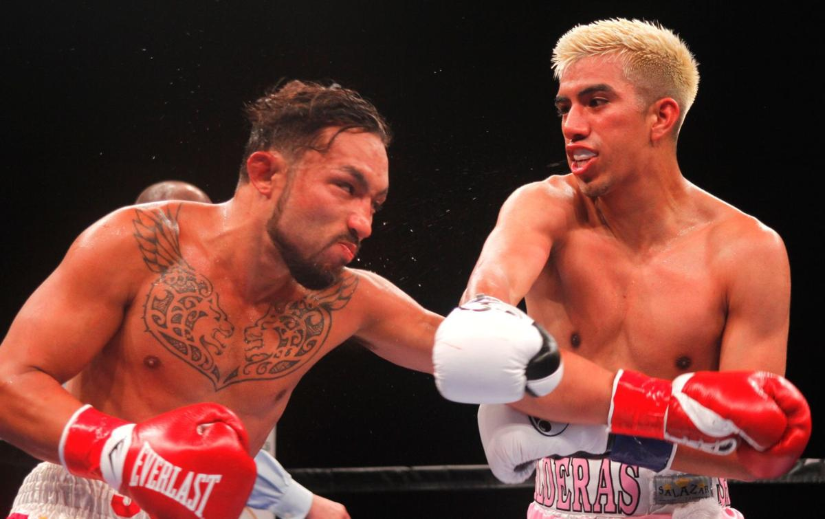 Santa Maria style boxing Jose and Karlos Balderas put on a show