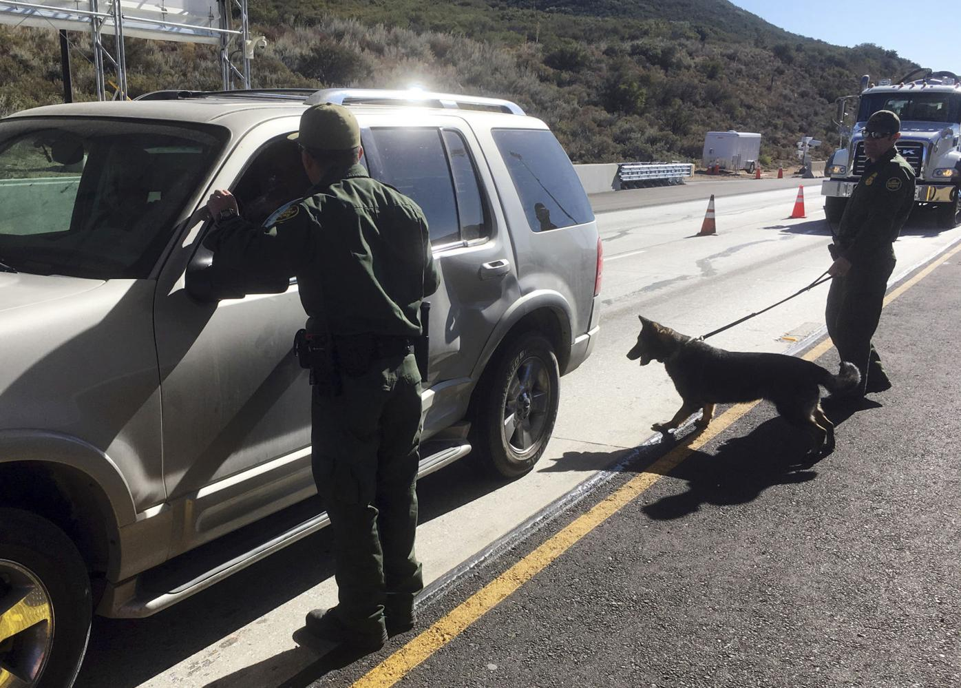 California Marijuana Border Busts