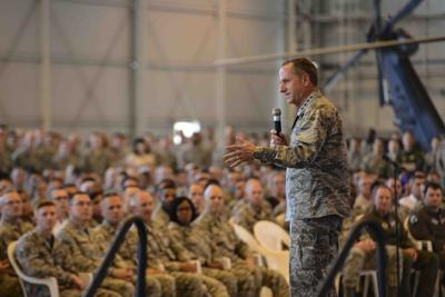 AF Chief of Staff returns with honor