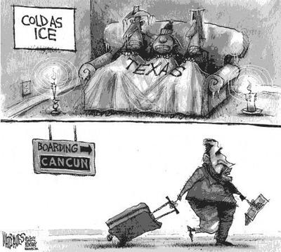 Editorial Cartoon: On vacation