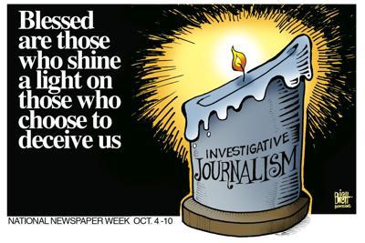Editorial Cartoon: Journalism