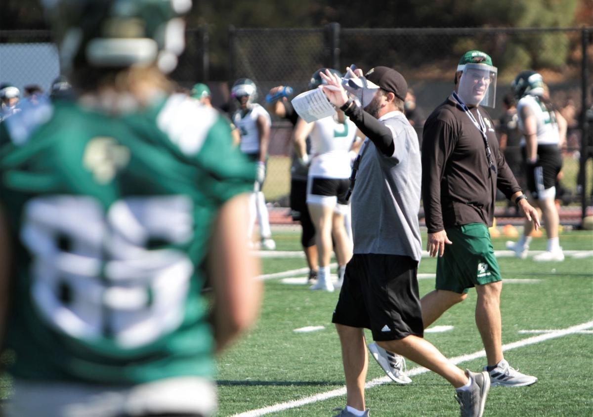 Cal Poly Football Mustangs Happy To Be Back As Fall Ball Camp Hits Day Two Cal Poly San Luis Obispo Santamariatimes Com