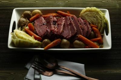 Corned Beef, Carrots and Cabbage