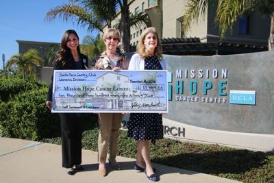 Club raises over $10K for Mission Hope Cancer Center