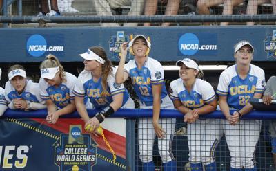 WCWS UCLA Oklahoma Softball