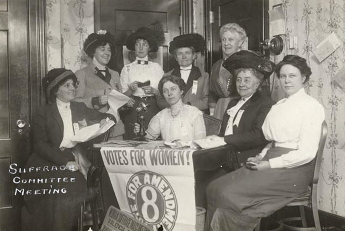 Historic photos: Women campaign for right to vote