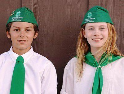 4-H reporters Hadleigh Bolton and Xavier Lovering