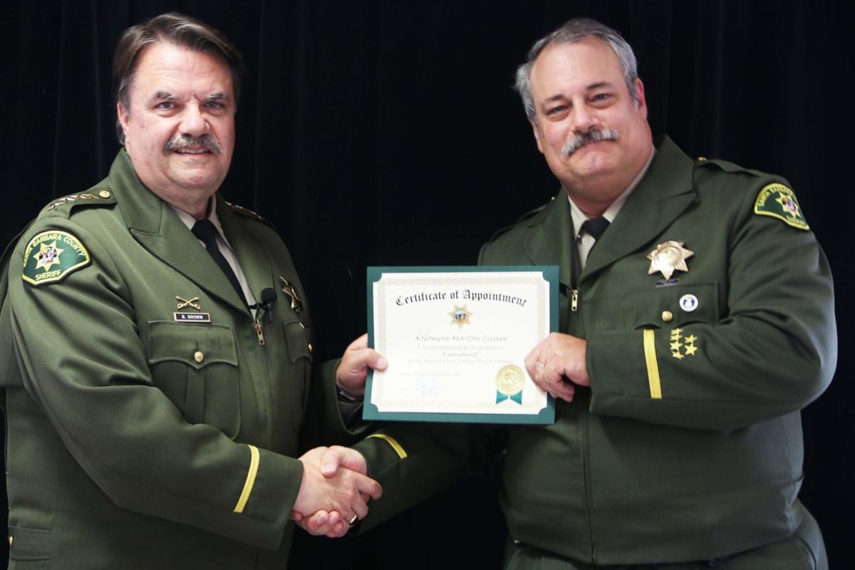 091018 SBSO promotional ceremony