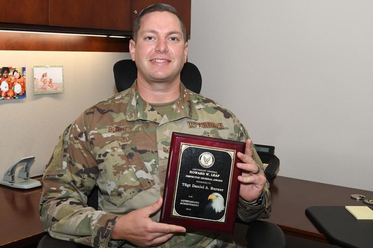 Tech Sgt. Daniel Burner, 30th Space Wing Inspector General inspection planner