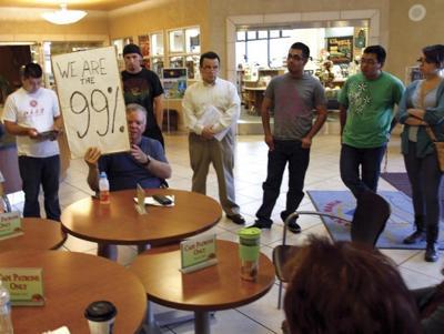 'Occupy' reaches Santa Maria