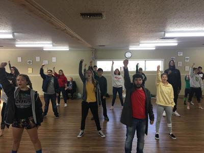 St. Joseph High School students rehearse 'Les Miserables'