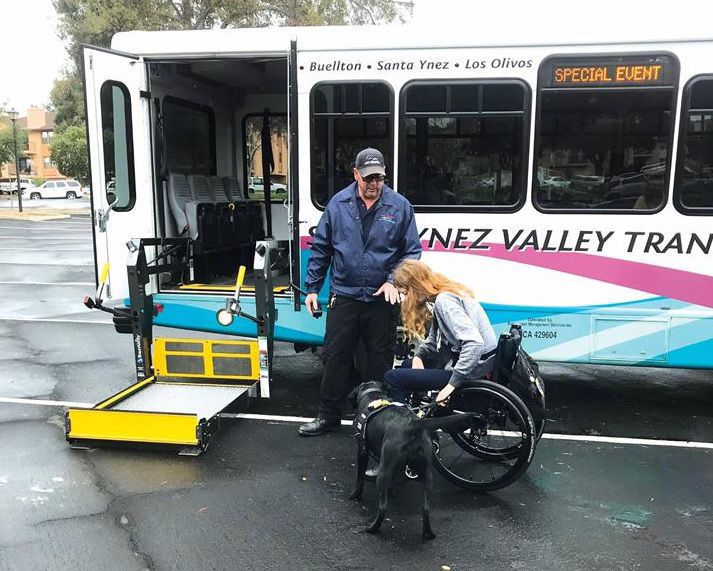 Santa Ynez Valley Transit service dog training