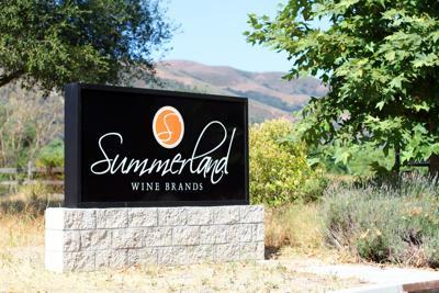 Summerland monument sign