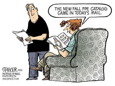 Editorial Cartoon: Fall catalog