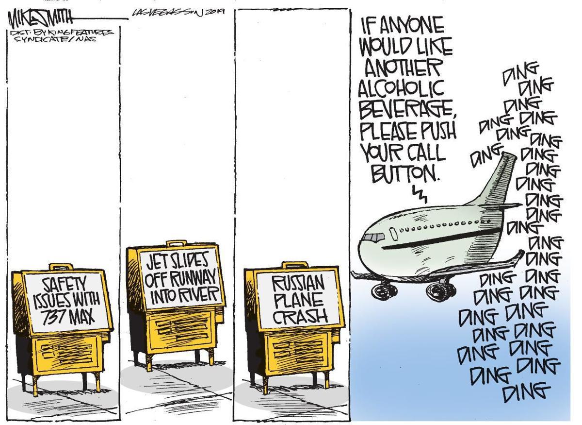Cartoon: Plane crash concern