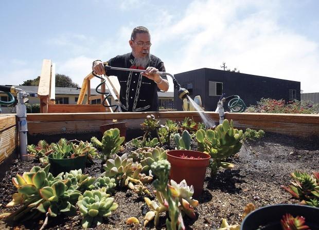 Nursing home patients rebuild lives through gardening