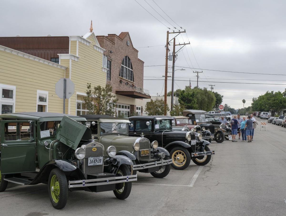 All Ford Car Show Turns Old Town Orcutt Into Openair Showroom - Old town car show