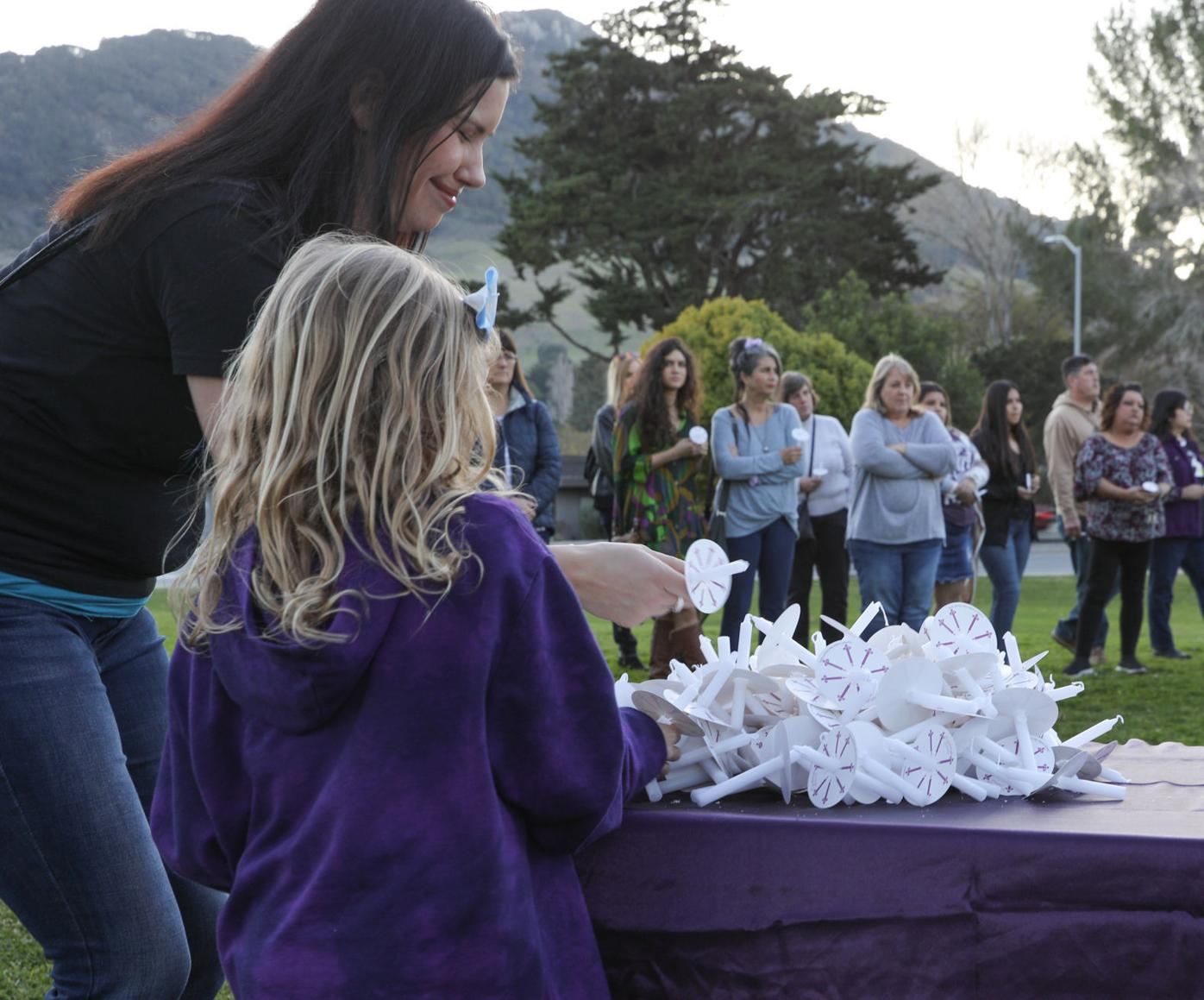 'Keep her memory alive': Organizer encourages community to spread awareness of Kristin Smart during vigil in SLO