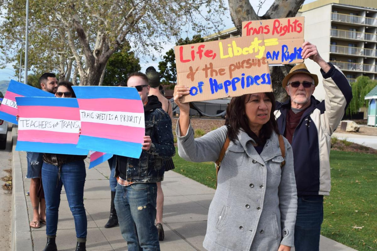 Transgender rally SM  1