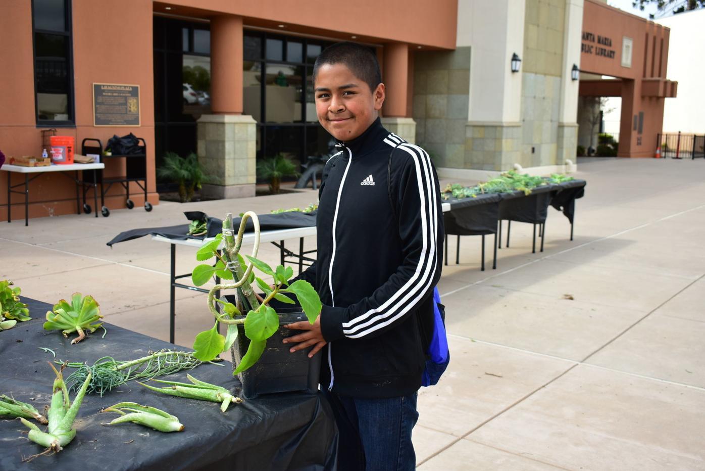 Photos: Succulent Saturday at the Santa Maria Public Library
