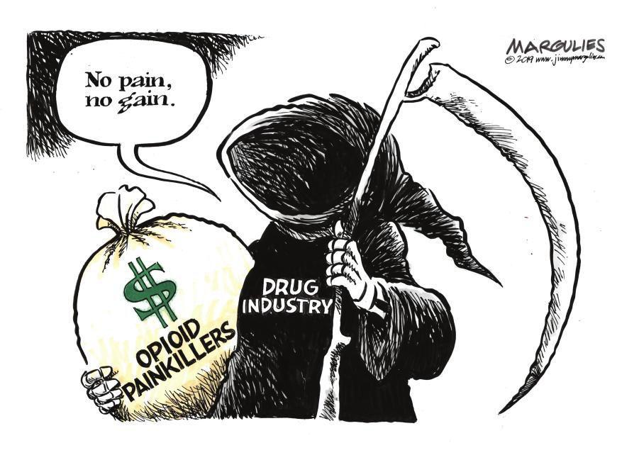 Cartoon: No pain, no gain